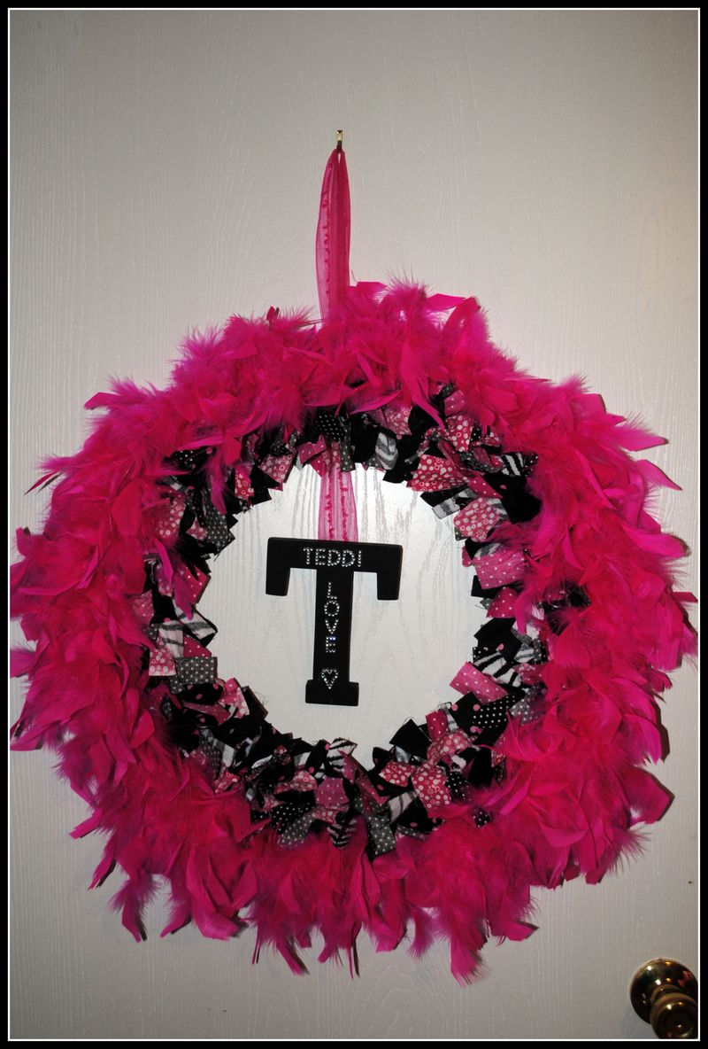Teddi's wreath